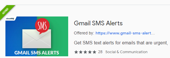 Gmail SMS Alerts